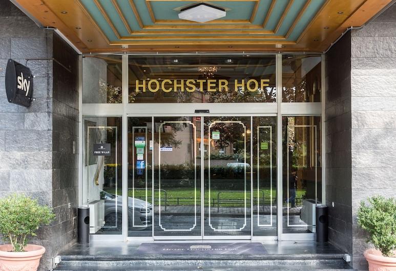 Hotel Höchster Hof - Tagungshotel und Restaurant, Frankfurt, Entrada del hotel