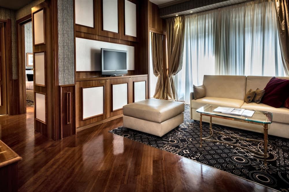 Suite junior, 1 cama doble - Sala de estar