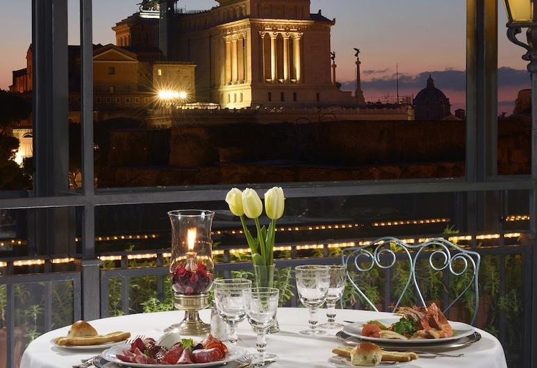 Hotel Forum, Rzym, Restauracja