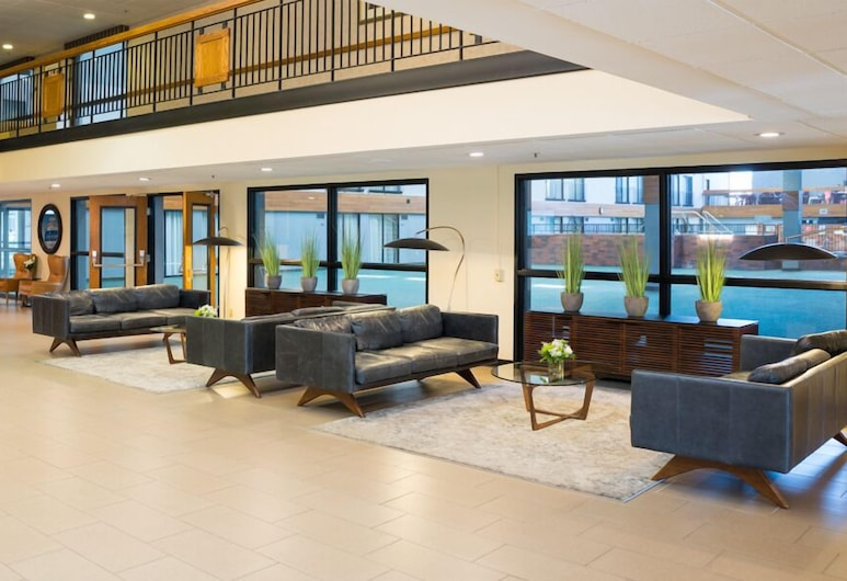 Mankato City Center Hotel, Mankato, Puhkeala fuajees