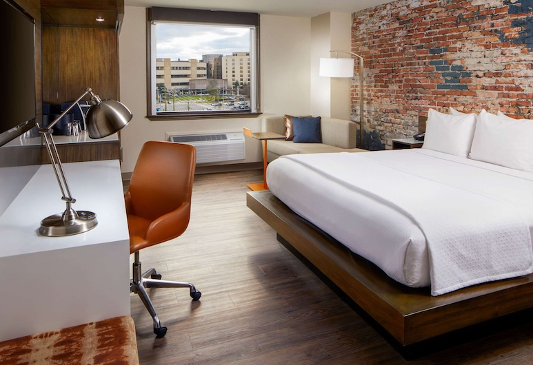 The Lodge at Duke Medical Center, Durham, Standardzimmer, 1King-Bett, Nichtraucher (Main Building), Zimmer