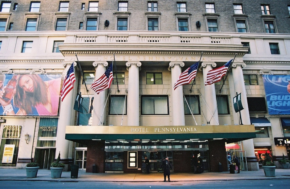 Hotel pennsylvania en nueva york for Hotel centro new york