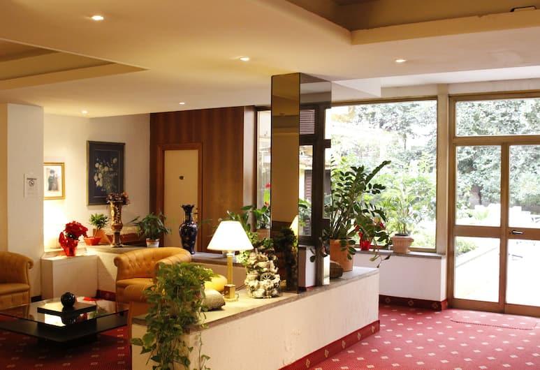 Hotel Edera, Roma, Salottino della hall
