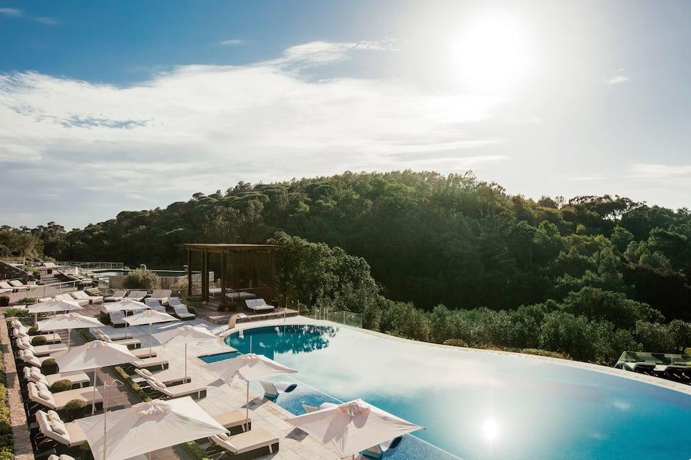 Rodinné apartmá, 2 ložnice, výhled na golfové hřiště, rohový pokoj - Bazén
