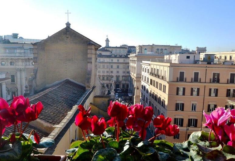 Hotel Tritone, Rom, Terrasse/patio
