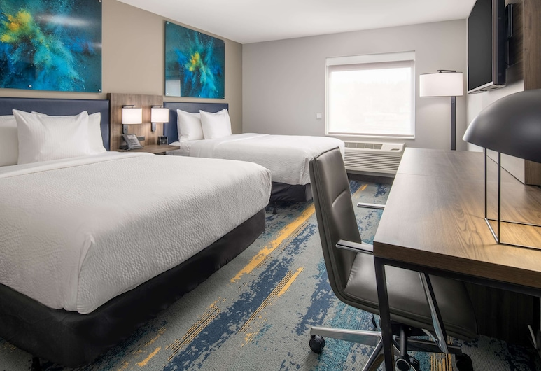 La Quinta Inn & Suites by Wyndham Spokane Downtown, Spokane, Room, 2 Queen Beds, Accessible, Non Smoking (Mobility), Guest Room