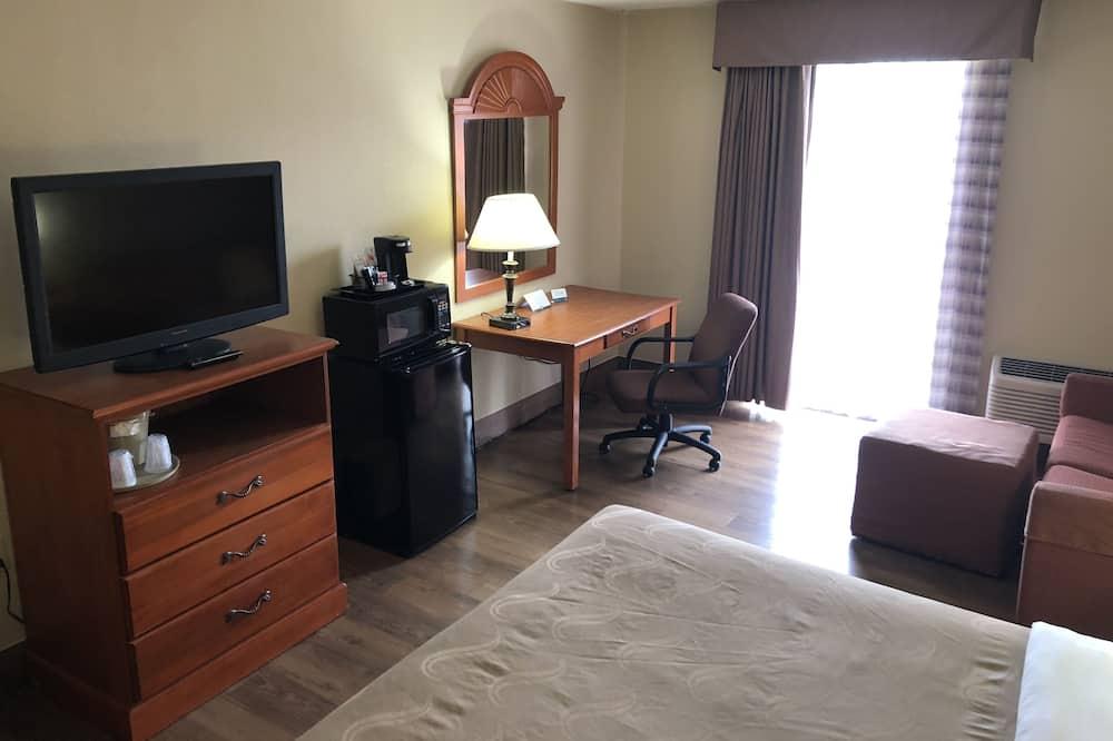 標準客房, 1 張特大雙人床, 非吸煙房 - 客廳