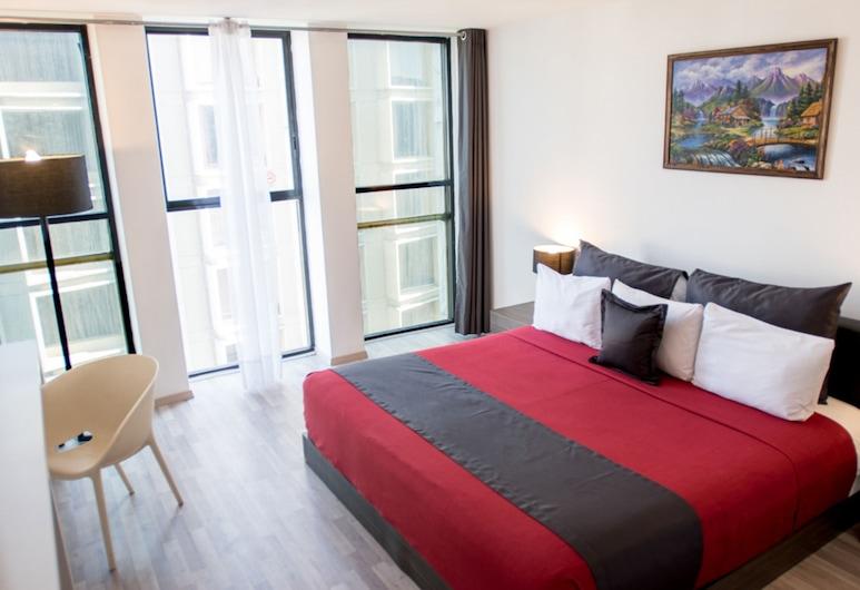 Hotel del Angel, Mexico, Chambre Supérieure, 1 très grand lit, Chambre