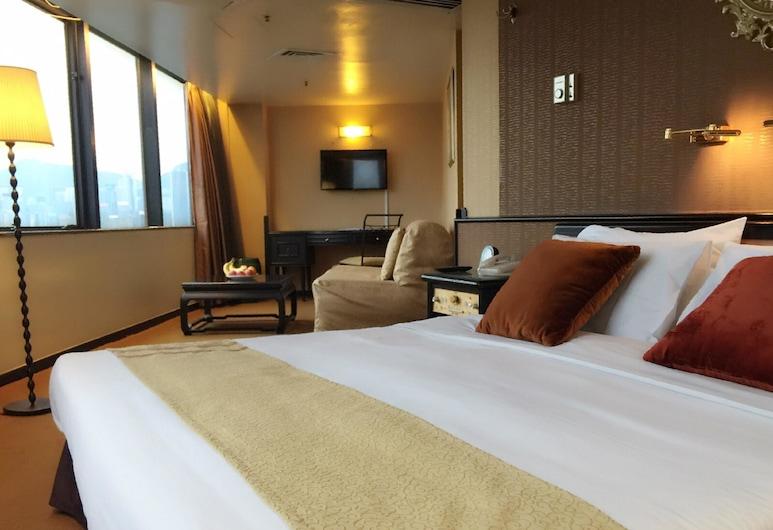 最佳盛品酒店尖沙咀 (貝斯特韋斯特成員酒店), 九龍, 高級城市景雙床房, 客房
