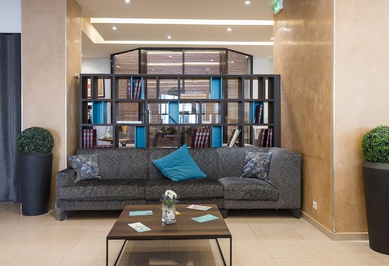 Hotel Apogia Nice, Nica, Prostor za sjedenje u predvorju