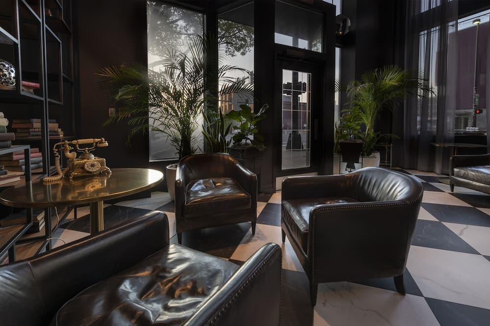 منطقة الجلوس في الردهة