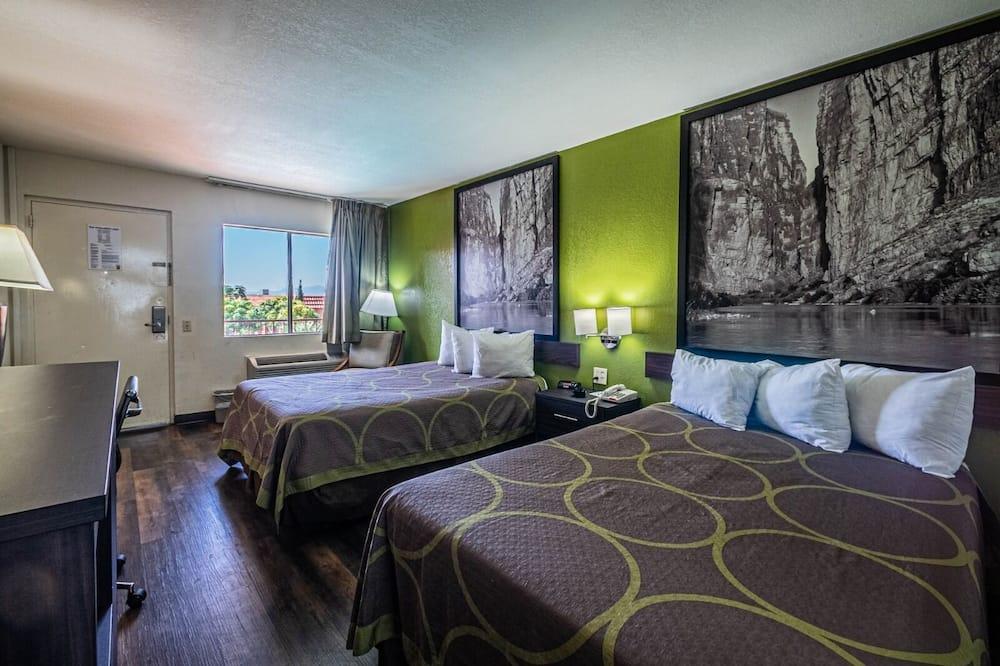 غرفة مزدوجة - سريران مزدوجان - غرفة نزلاء