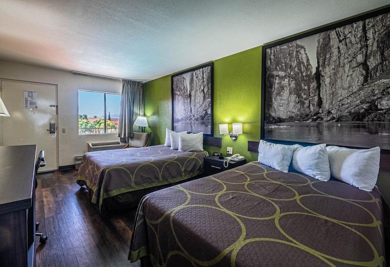 Super 8 by Wyndham El Paso Airport, El Paso, Double Room, 2 Double Beds, Guest Room