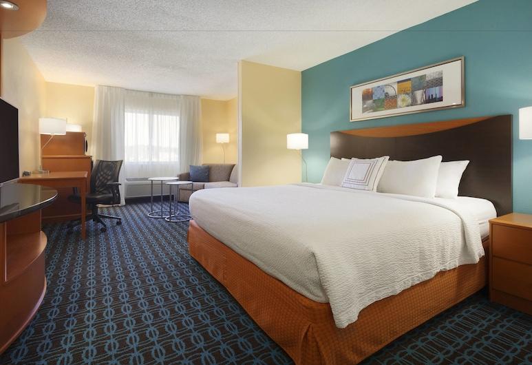 Fairfield Inn & Suites Longview, Longview, Suite Executive, 1 letto king con divano letto, Camera