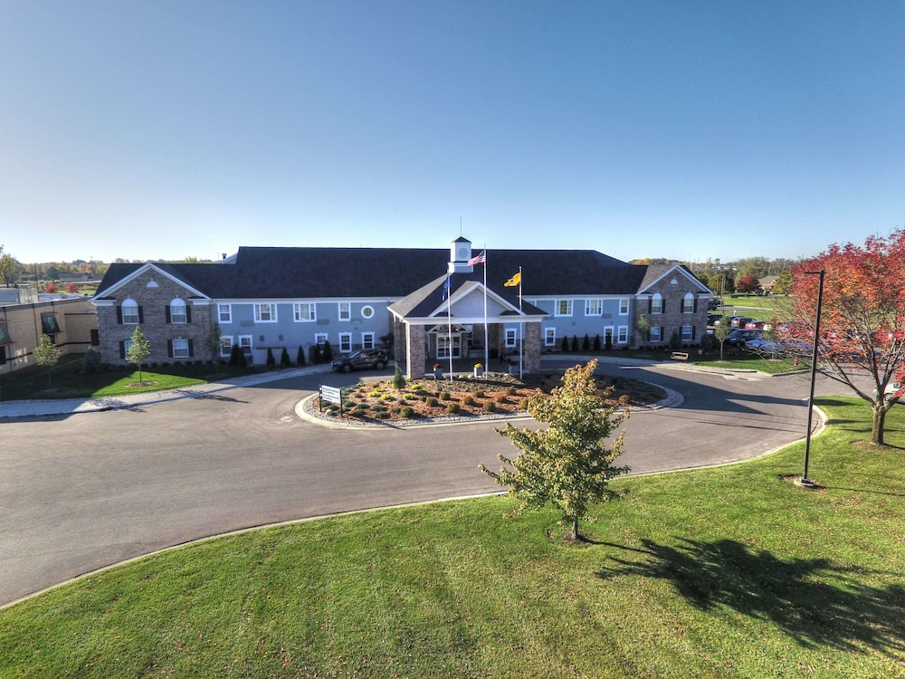 Comfort Inn Suites And Conference Center Mount Pleasant Aerial View