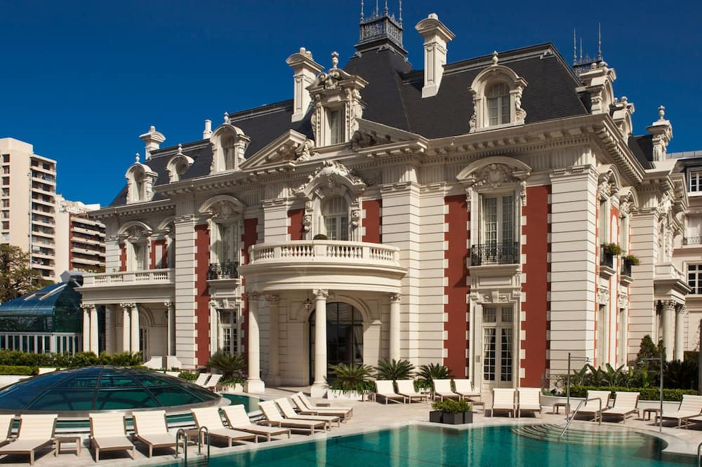 Люкс, 1 двуспальная кровать «Кинг-сайз» (Mansion View) - Открытый бассейн