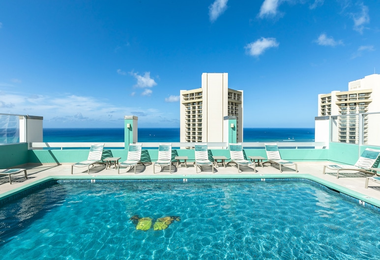 Pacific Monarch Hotel, Honolulu, Rooftop Pool