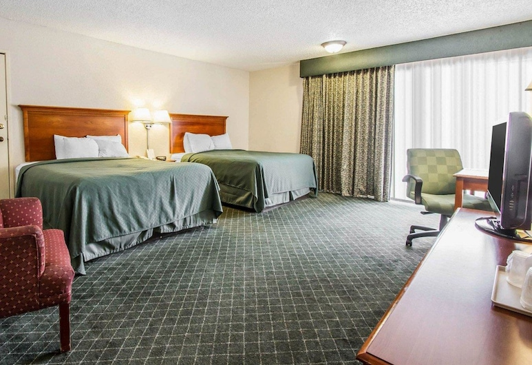 Quality Inn near Downtown Tucson, Tucson, Standard Room, 2 Queen Beds, Non Smoking, Guest Room