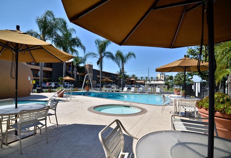 Best Western Plus Stovall's Inn, Anaheim, Vanjski bazen