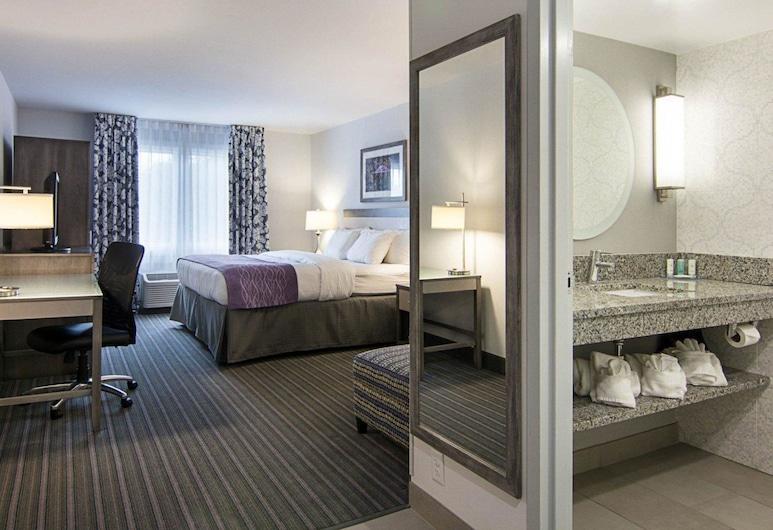 Comfort Inn Williamsburg Gateway, Williamsburg, Kamer, 1 kingsize bed, niet-roken, Kamer