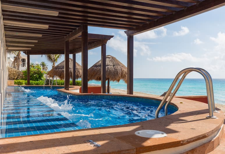 Royal Solaris Cancun Resort Marina & Spa - All Inclusive, Cancún, Kylpyallas ulkona
