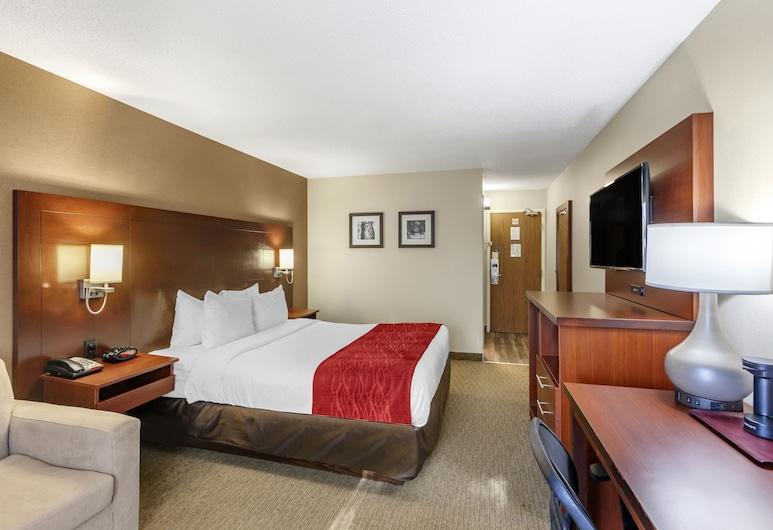 Comfort Inn Airport West, Mississauga, Standardna soba, 1 queen size krevet i kauč na rasklapanje, Soba za goste