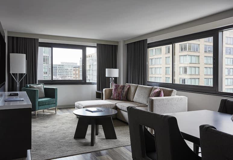 Washington Marriott Georgetown, Washington, Club Suite, 1 Bedroom, Business Lounge Access, Guest Room