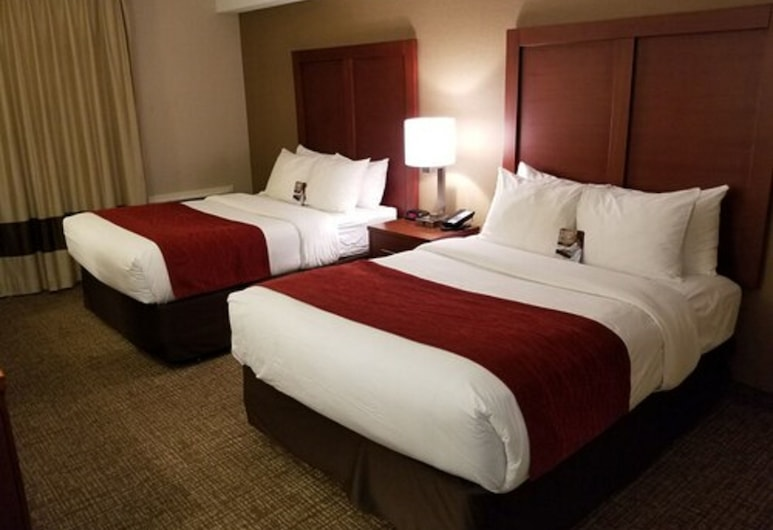 Comfort Inn Toronto North, Toronto, Comfort Care, Room, 2 Double Beds, Non Smoking, 2nd Floor, Guest Room