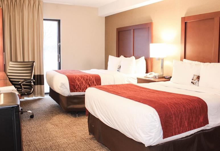 Comfort Inn Toronto North, Toronto, Comfort Care, Room, 2 Double Beds, Non Smoking, 2nd Floor, Guest Room