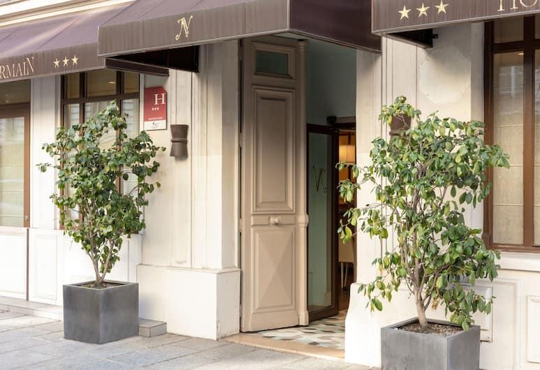 Hotel Des Nations Saint Germain, Párizs, Hotel homlokzata