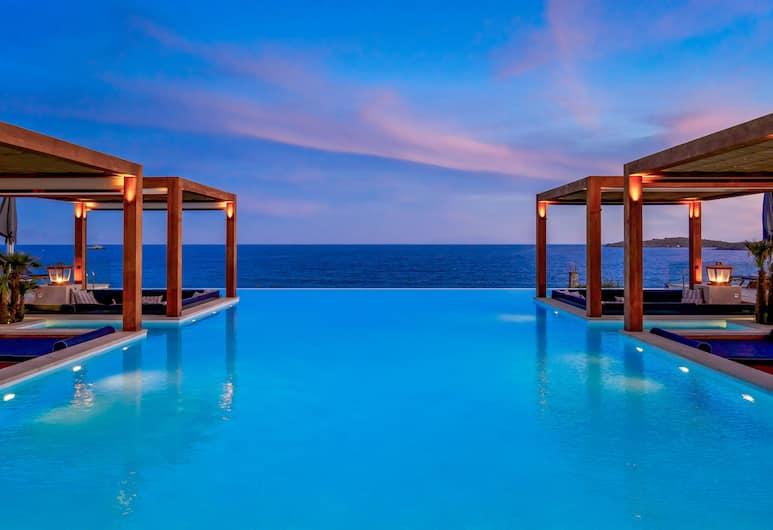 Santa Marina, a Luxury Collection Resort, Mykonos, Mykonos, Endeløst basseng