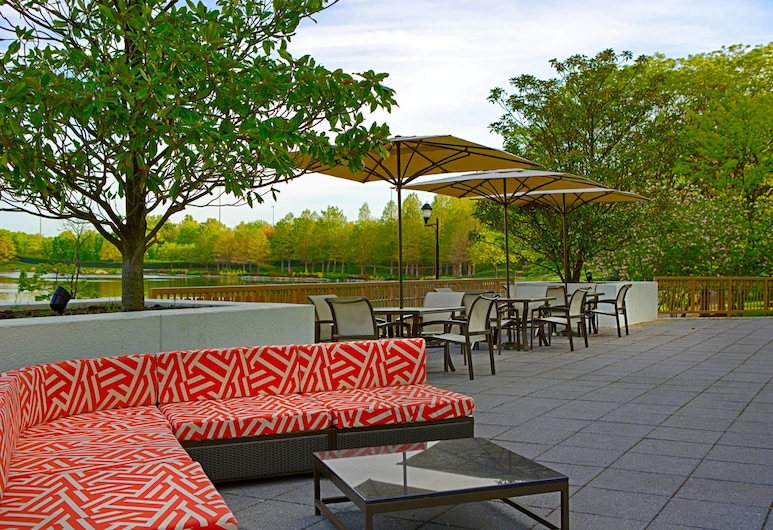 Gaithersburg Marriott Washingtonian Center, Gaithersburg, Terraza o patio