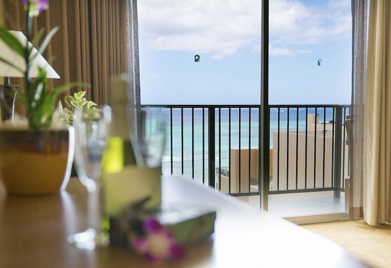 ワイキキ リゾート ホテル , ホノルル, ルーム オーシャンビュー, 部屋