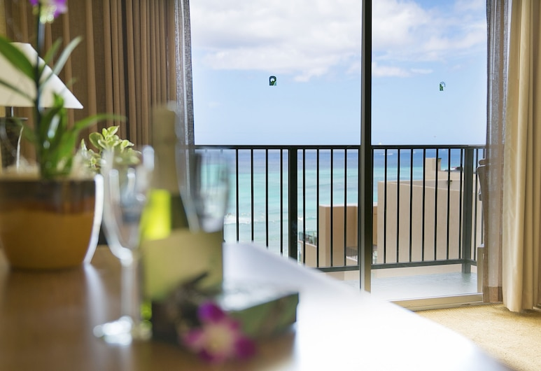 Waikiki Resort Hotel, Honolulu, Chambre, vue océan, Chambre