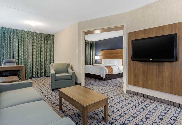 Quality Suites Whitby, Whitby, Suite, non-fumeurs, Chambre