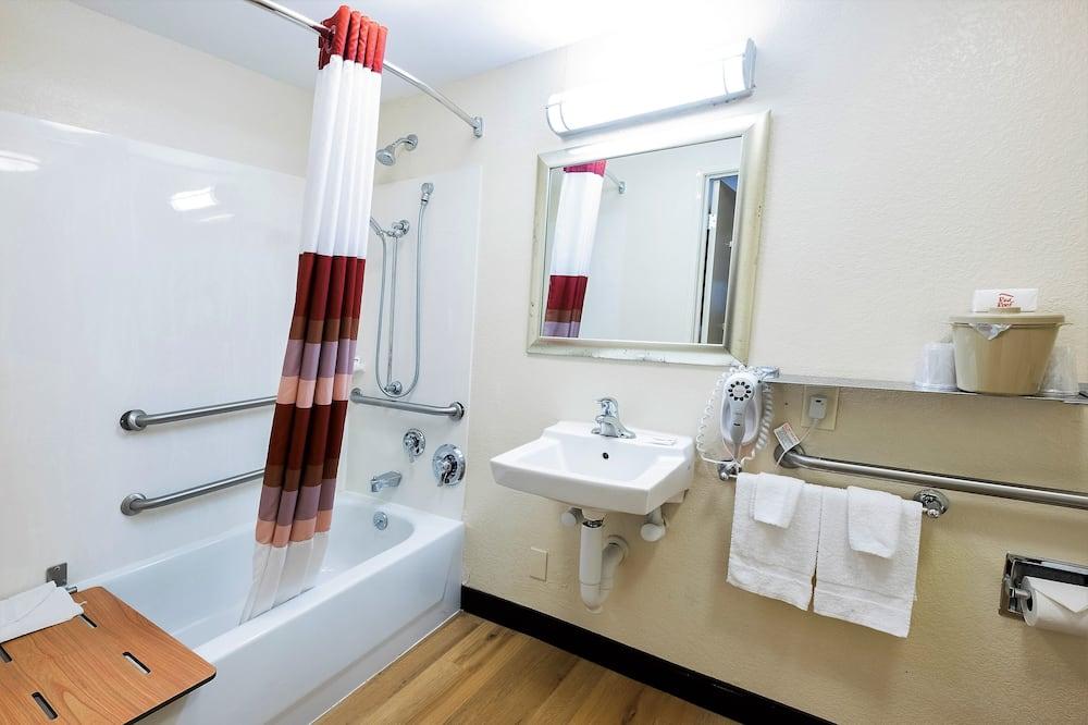 Superior szoba, 1 king (extra méretű) franciaágy (Smoke Free) - Fürdőszoba
