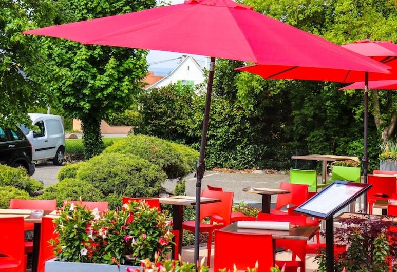 ibis Colmar Est, Horbourg-Wihr, Restoran na otvorenom