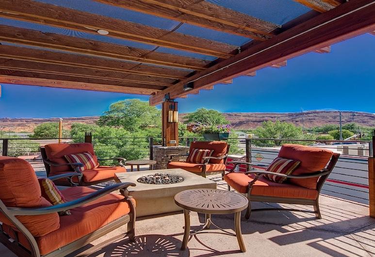 Best Western Plus Canyonlands Inn, Moab, Terraza o patio