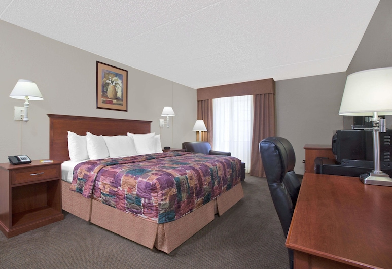 Days Inn by Wyndham Casper, Casper, Room, 1 King Bed, Guest Room