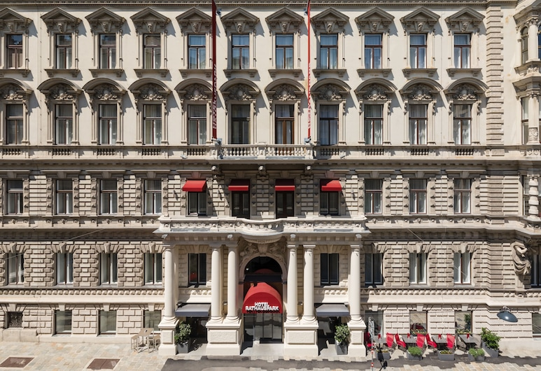 Austria Trend Hotel Rathauspark, Viena, Viešbučio fasadas