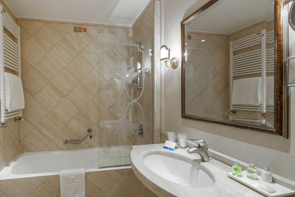 Habitación individual superior, 1 cama individual - Baño
