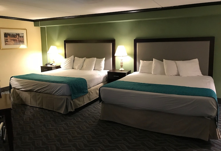Howard Johnson Hotel by Wyndham Newark Airport, Newark, Suite estudio, 1 cama King size, para no fumadores, Habitación