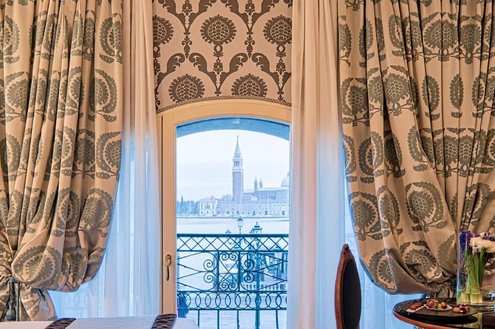 Chambre Deluxe, vue lagon - Vue depuis la chambre