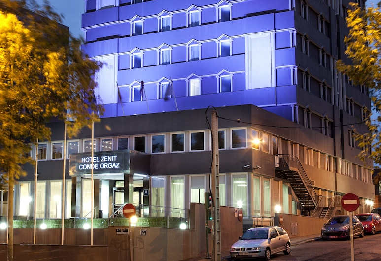 Hotel Zenit Conde de Orgaz, Madrid, Hotel homlokzata - este/éjszaka
