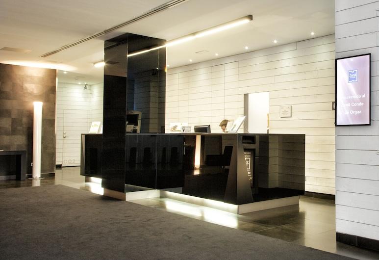 Hotel Zenit Conde de Orgaz, Madrid, Réception