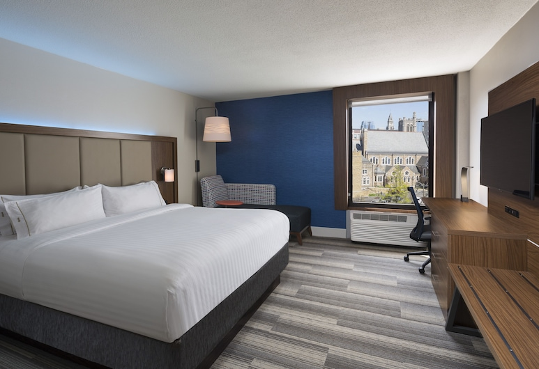 Holiday Inn Express Nashville Downtown Conf Ctr, Nashville, Basic Room, 1 King Bed, Non Smoking, Guest Room