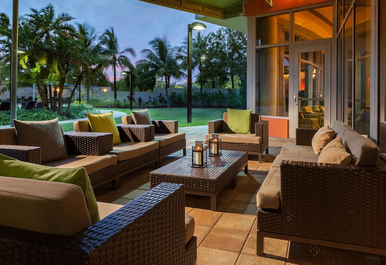 Courtyard by Marriott Miami Airport, Μαϊάμι, Αίθριο/βεράντα