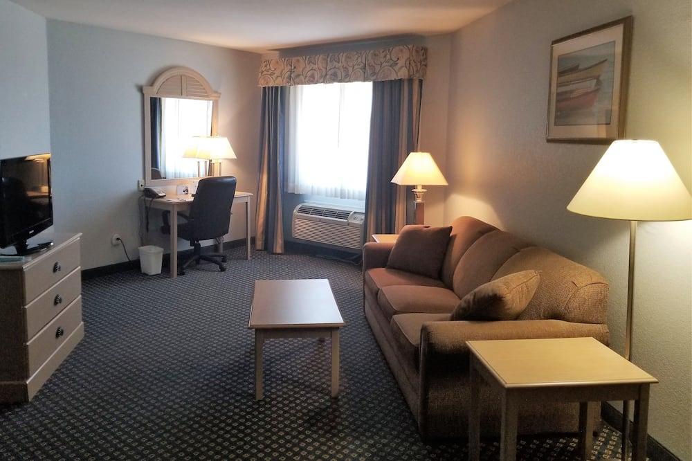 Apartmán, 1 extra veľké dvojlôžko, nefajčiarska izba (One-Bedroom Suite) - Obývacie priestory