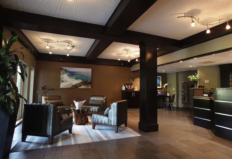 La Cuesta Inn, סן לואיס אוביספו, מבט לכניסה מבפנים
