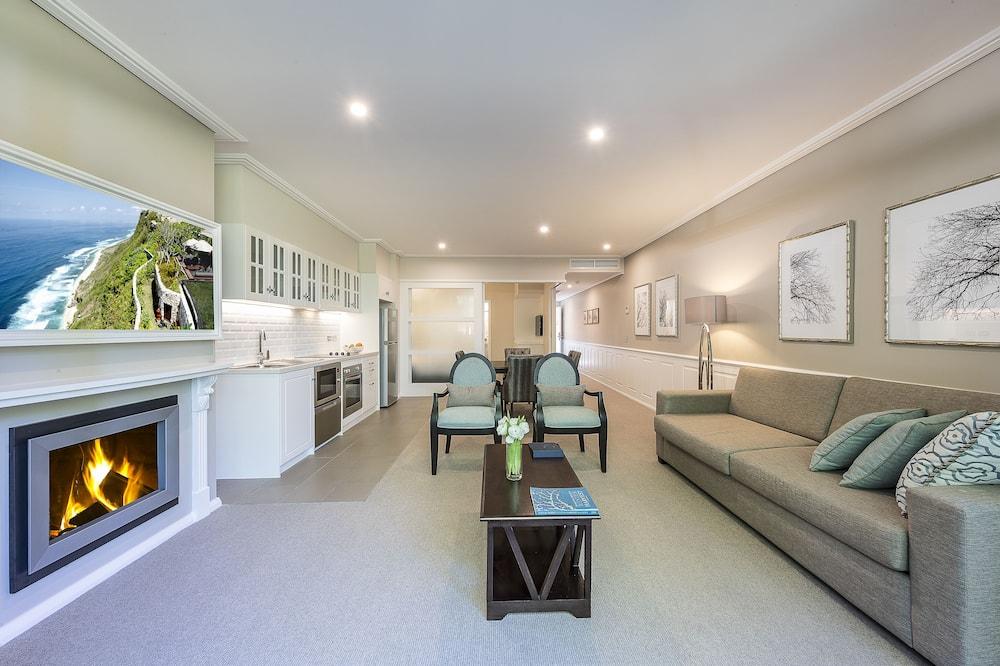 Standarta dzīvokļnumurs, viena guļamistaba, nesmēķētājiem, virtuve (Highlands Golf Package) - Dzīvojamā zona